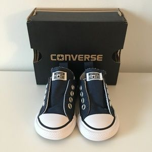 Converse Simple Slip Baby Shoes - 2 Infant